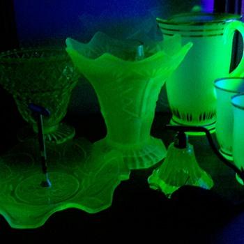 Uranium  Glass - Glassware