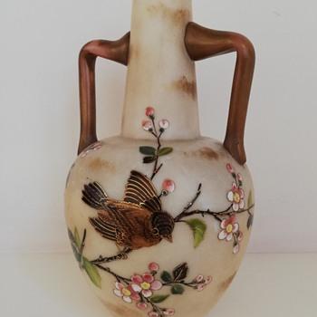 Bohemian Vase,  Harrach - Art Glass