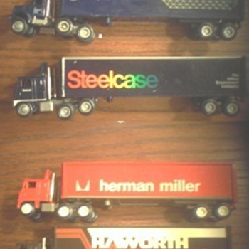 winross semis from the 1980's as I understand them.   - Model Cars