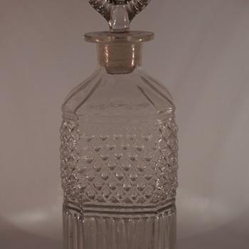 Mould Blown Decanter - Art Glass