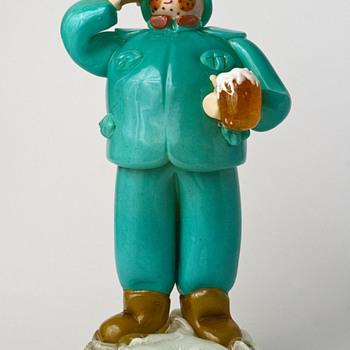 ZELEZNY BROD SKLO glass figurine - Art Glass