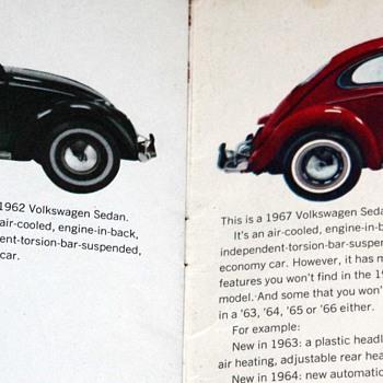 1967 VW Bug Brochure