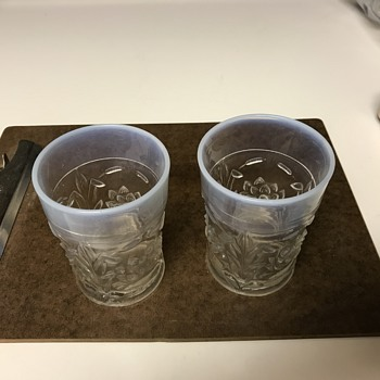 Mystery glasses (Maybe jelly jars)? - Glassware