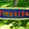 1951 Firestone sign