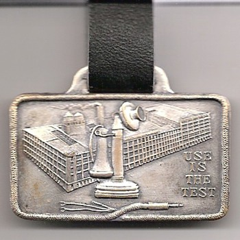 Kellogg Switchboard & Supply Watch Fob - Telephones