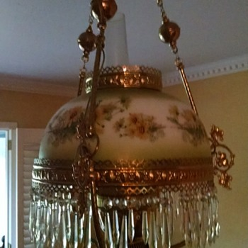 Original Piece of Texas History Chandelier - Lamps