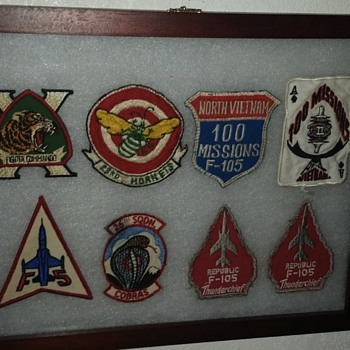 vietnam airforce patch collection