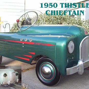 Restored 1950 Thistle Chieftain  - Model Cars