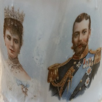 King George V jug - China and Dinnerware
