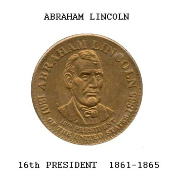 Shell Oil Co. - Abraham Lincoln Medal - Medals Pins and Badges