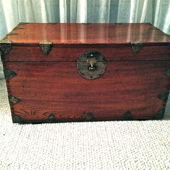 Antique or Vintage  Chinese or Korean Chest - Asian