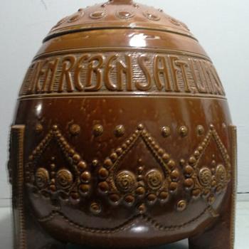 merkelbach & wick punch bowl - Pottery