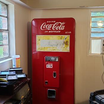 Coke machine info? - Coca-Cola