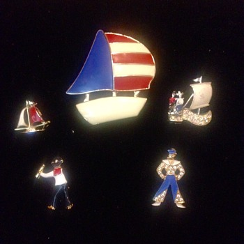 Sail Away, Sail Away, Sail Away... - Costume Jewelry
