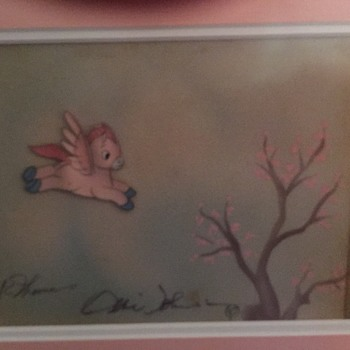 """Courvoisier """"Pegasus"""" Cel - 1940 - Fine Art"""