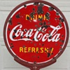 Coca Cola Lollipop Sign