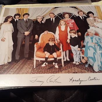 President Jimmy Carter family photograph - Photographs