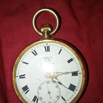 THALIA SP 18K GOLD POCKET WATCH - Pocket Watches
