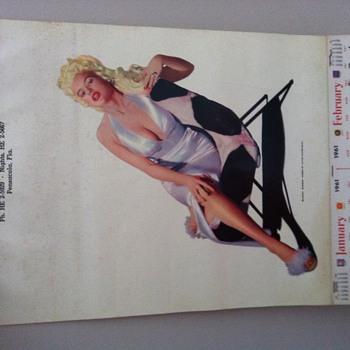 Jane Mansfield Blonde Bomber Poster - Advertising