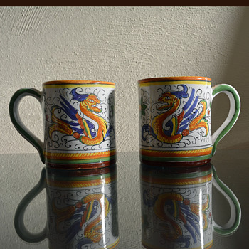 Deruta Raffaellesco Italian Pottery  - Pottery