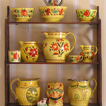 My Canary Glaze Shelf - China and Dinnerware