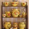 My Canary Glaze Shelf
