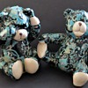Decoupage Pottery Teddy Bears - Global Studios Cornwall?