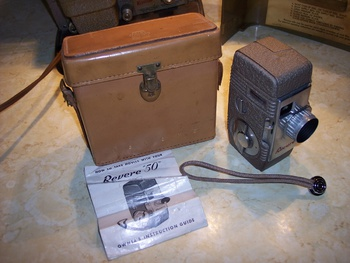 Keystone 8mm projector and Revere 8mm camera  | Collectors