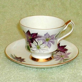 """Society"" Bone China Cup & Saucer - China and Dinnerware"