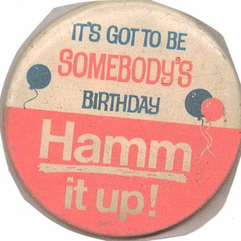 Hamm's Button - Advertising