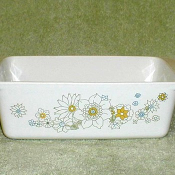 "Corningware ""Floral Bouquet"" Loaf Pan - Kitchen"