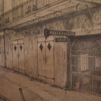 Vintage print placed on 1800's slate! - Fine Art