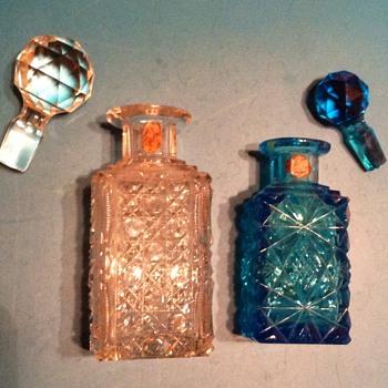 ANTIQUE PERFUME BOTTLES? E.F. CRISTALL - Bottles