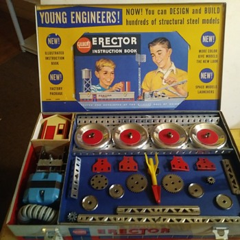 Erector Set Rocket Launcher - Toys