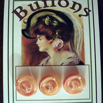 More Gorgeous Antique Bohemian Glass Buttons - Sewing
