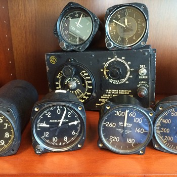 A Small Sample of Warbird Artifacts - Military and Wartime
