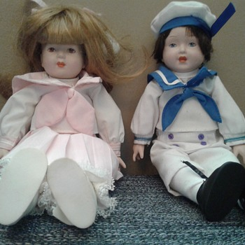 Sailor Boy and Girl - Dolls