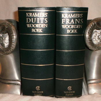 92% TIN - SET OF 2 BOOKENDS - Books