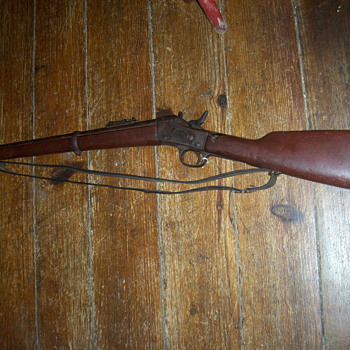 1880s Remington rolling block - Military and Wartime