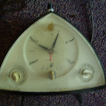 Sears Electric Clock and Radio from 60's