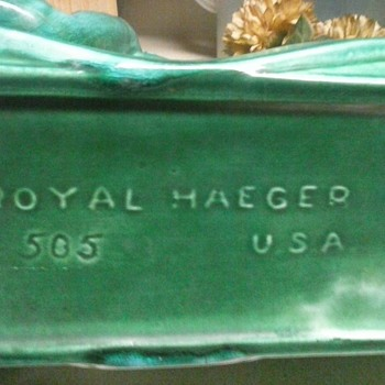 Royal Haeger..i cant seem to find any like it, just curiouse dose this hold value,other than sentimental?