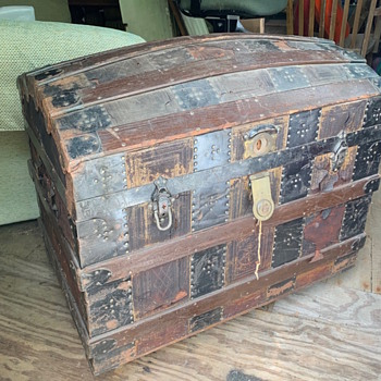 James S Topham Trunk - Furniture