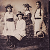 tintypes of my wife's faimly 1890 Salem Willows Mass
