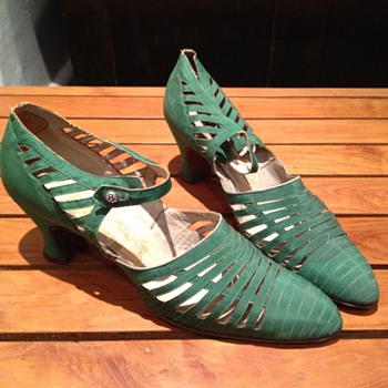 Victorian Silk Shoes