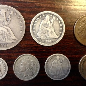 US Civil War era coinage - US Coins