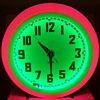 Mid Century Eames Era Neon Diner Clock