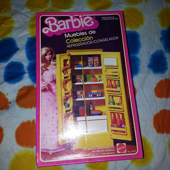 I have 2 vintage Barbie items
