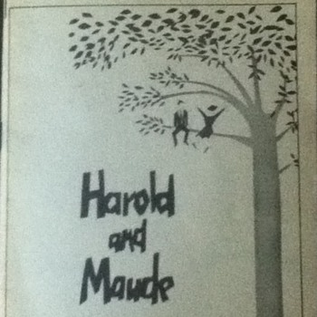 """""""Harold and Maude"""" Playbill - Paper"""