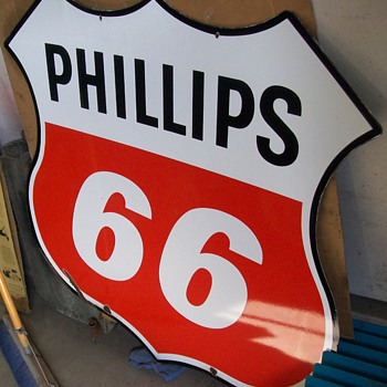"48"" Phillips 66 sign DSP - Petroliana"