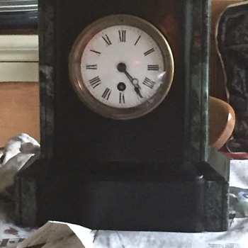Old Marble Clock - Clocks
